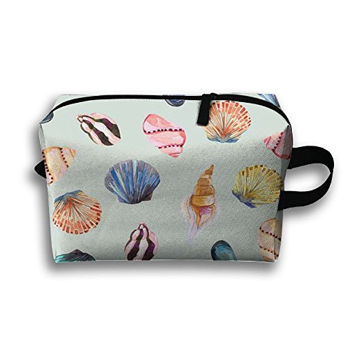 Scallop Conch Storage Pouch Bag Cosmetic Bag Accessory Bag High Elasticity For Family