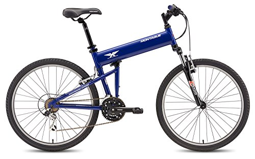 Montague Paratrooper Express 18 Speed Folding Mountain Bike Large - 20