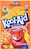 Kool-aid Orange Unsweetened Soft Drink Mix 0.15-ounce Envelopes (Pack of 48)