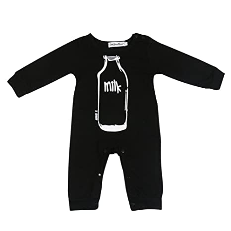 originaltree recién nacido bebé Pelele de manga larga unisex Baby cubierto botón Mono trajes samecolor Talla