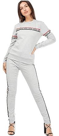 Momo&Ayat Fashions - Chándal - para Mujer Gris Gris M/L (UK40-42 ...
