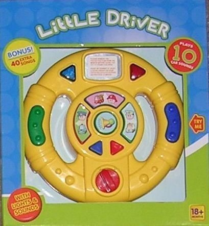 Amazon.com : Little Driver : Steering Wheel For Car Seat : Baby