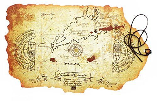 Exclusive  Goonies Rolled Map