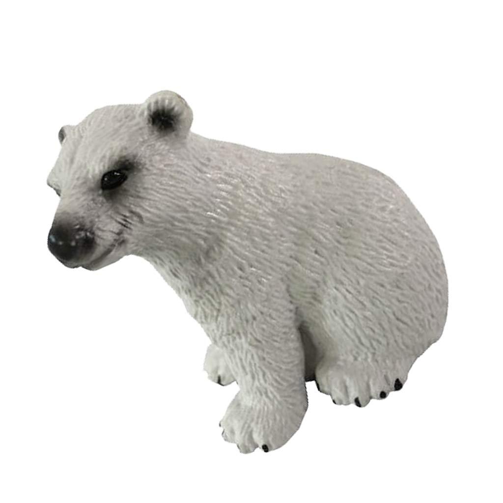 Beaver Statue Garden Sculpture Realistic Ocean Animal Figurine Decor Gifts