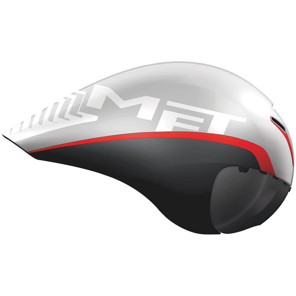 メット ドローンHES ホワイトブラックレッド ヘルメット L(59/62cm)   B00N52RSAK