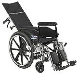 "Viper Plus GT Full Reclining Wheelchair 20"" Seat Width/Full Arms"