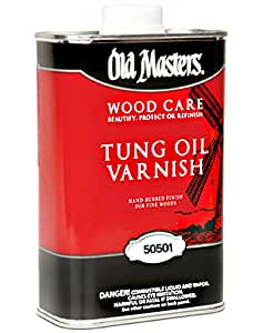 Old Masters / Master Products 50501 1G Tung Oil Varnish