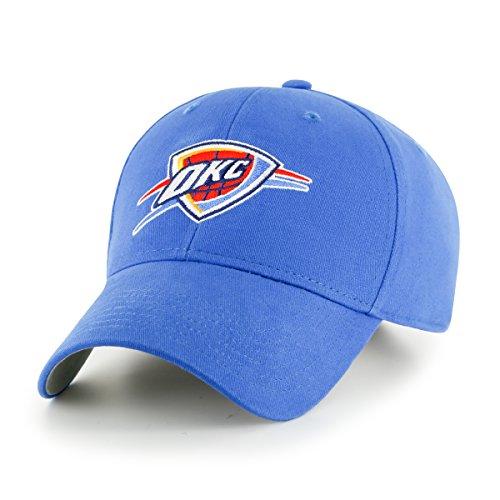 fan products of NBA Oklahoma City Thunder Kid's Cinch OTS All-Star Adjustable Hat, Blue Raz, Kid's