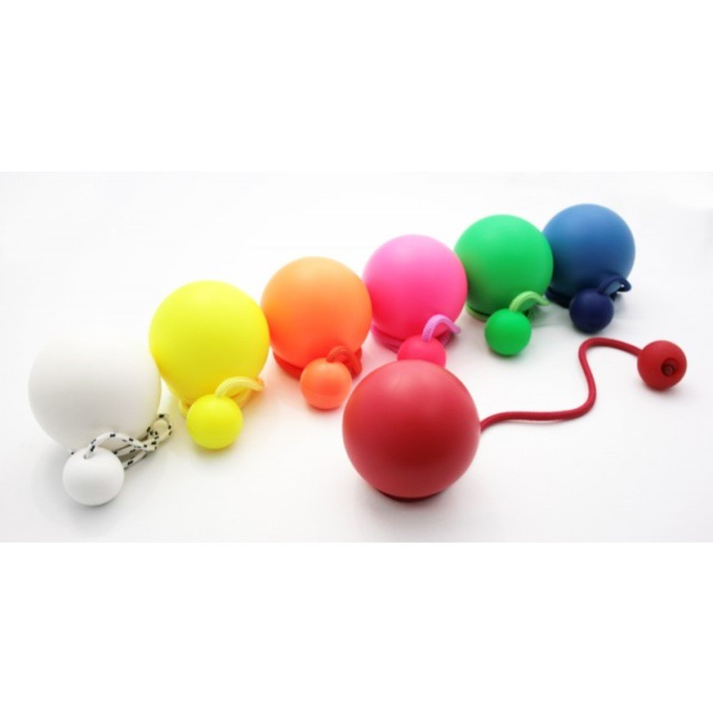 Play Pair of Contact Poi Pro with 90mm Stage Ball (Glow in The Dark) by Play (Image #1)