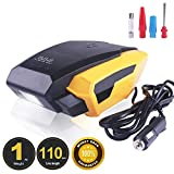 Portable Tire Inflator Pump, 12V 150 PSI Auto Digital Electric Emergency Air Compressor Pump for Car,Truck,SUV,Basketballs and Other Inflatables