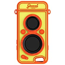 GIZMON SOFT iCAFLEX Classic Camera Style Silicone Soft Case Cover for iPhone6 iPhone6s - ORANGE