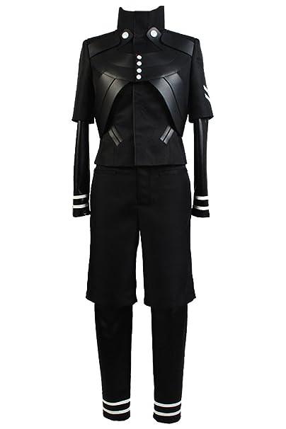 Disfraz para adulto de Ken Kaneki, de la serie Tokyo Ghoul, traje de batalla
