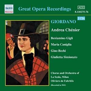 Great Opera Recordings: Andrea Chenier