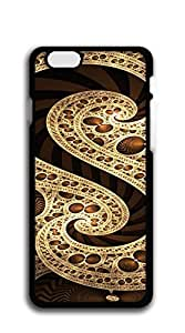 Custom Cover Case with Hard Shell Protection iphone 6 case for girls 2d - abstract art 1