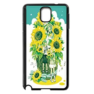 UNI-BEE PHONE CASE For Samsung Galaxy NOTE4 Case Cover -Sunflower And Sun-CASE-STYLE 7