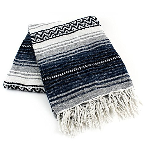 meximart 's Authentic Mexican Falsa Blanket Hand Woven 54