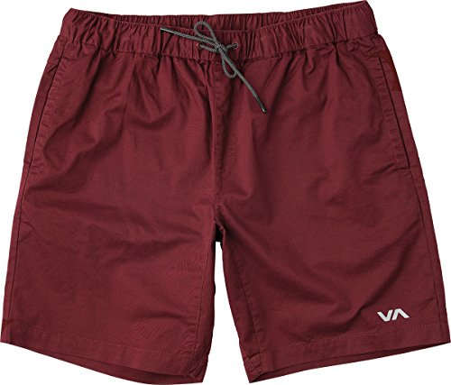 Slim Fit Walkshort - RVCA Men's Spectrum 18in Short, Tawny Port, M