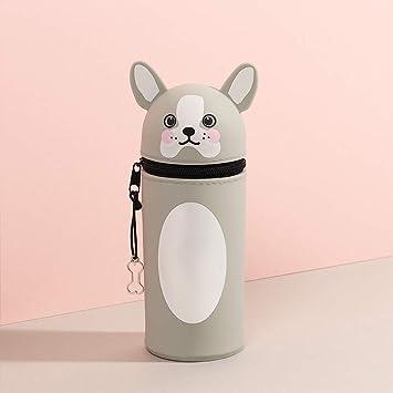 Estuche de silicona para lápices de cachorros: Amazon.es ...