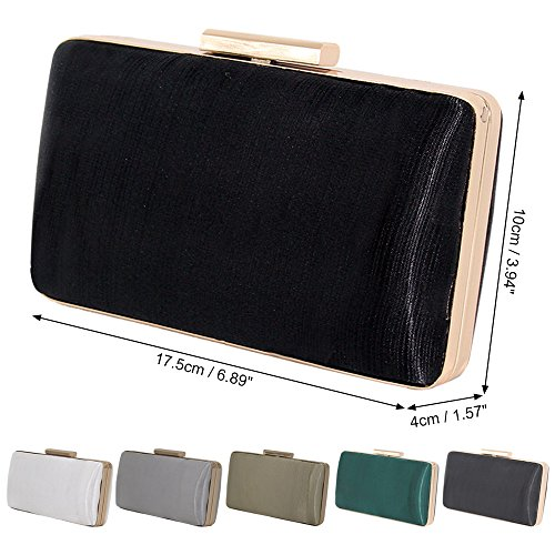 Party Cckuu Metal Black Green Banquet Bag Womens Clutches Gold Evening Shoulder Handbag Wedding 7rYErUqO