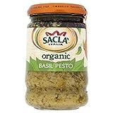Sacla Italia Organic Basil Pesto (190g)
