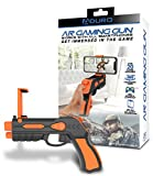 Aduro AR VR Game Gun Virtual Augmented Reality Gun with Bluetooth for IOS Android Phone Handheld Video Game System Free Target Shooting Gun Games VR Toys Apps for Kids Adult