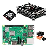 Nandcor Raspberry Pi 3 B+ (B Plus) Case Kit