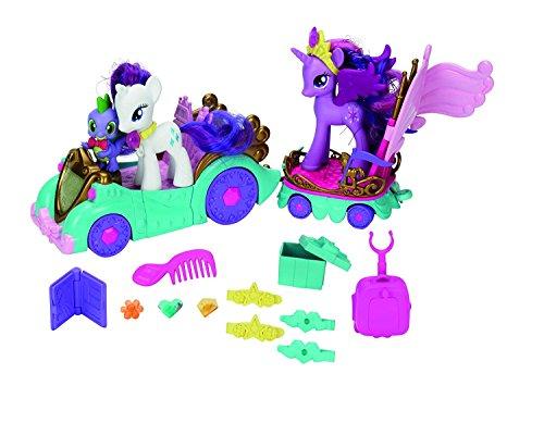 My Little Pony Hasbro A3993 -Princess Celebration Cars Carriage Play Set: Twilight Sparkle , Raity & Spike (My Little Pony Twilight Sparkle Carriage Set)