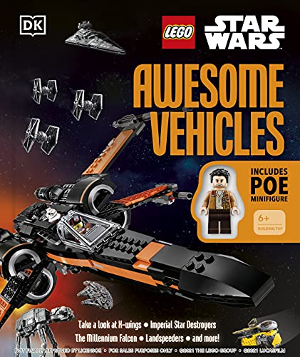 【洋書】LEGO Star Wars Awesome Vehicles ハードカバー