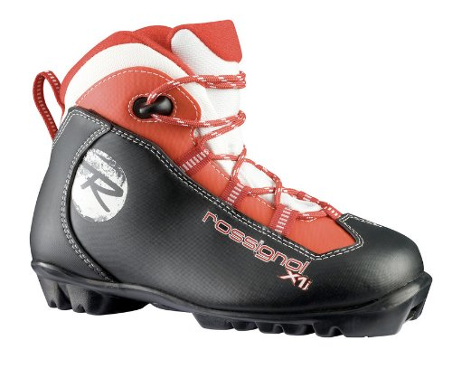 - Rossignol - X1 Junior NNN Cross Country Boots - 30 - Red/Black
