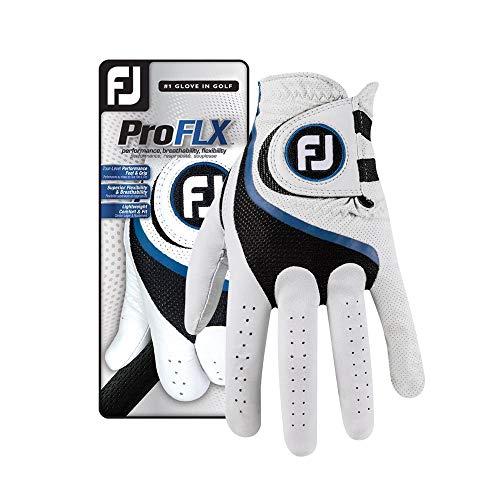 FootJoy Men's Pro FLX Golf Glove Pearl Cadet Medium/Large, Worn on Left Hand