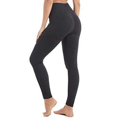 1f03e6ed67b Amazon.com  Aoxjox Yoga Pants for Women High Waisted Gym Sport Ombre  Seamless Leggings  Clothing