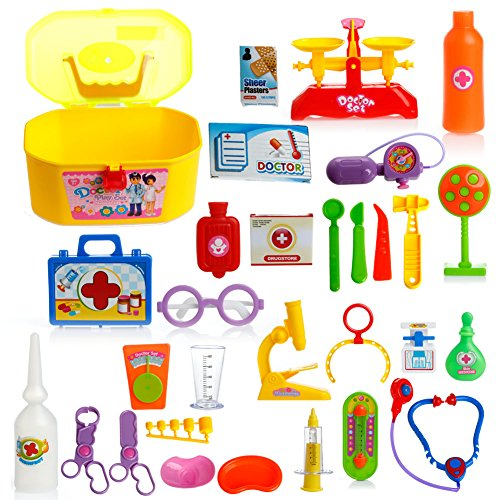 Kids Doctor Kit for Pretend & Play Game,
