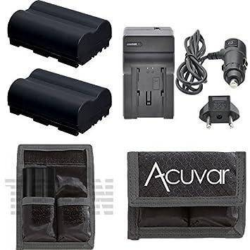 Amazon.com: 2 Baterías EN-EL3e High-Capacity + Car/cargador ...