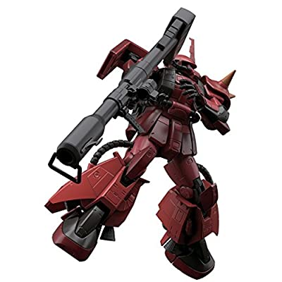 Bandai Hobby Mobile Suit Gundam MSV MS-06R-2 Johnny Ridden Only Zaku II 1/144 Scale RG Model Kit: Bandai Hobby Gunpla: Toys & Games