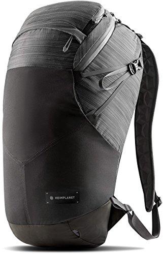 Heimplanet Motion Ellipse 25L Backpack | Dark Grey / Green