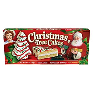 Amazon.com : Little Debbie Christmas Tree Cakes (Vanilla) : Grocery & Gourmet Food
