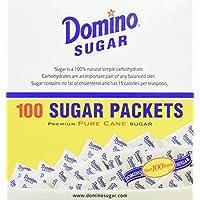 PAQUETES DE AZÚCAR DOMINO - Paquetes de 100 /3.54g