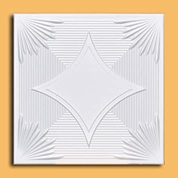 Ceilings Polystyrene Decorativre Tiles #R 35 Can Be Glue On Any Flat  Surfase,