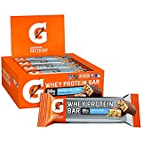 Gatorade Whey Protein Recover Bars, Cookies & Crème, 2.8 ounce bars (12 Count)