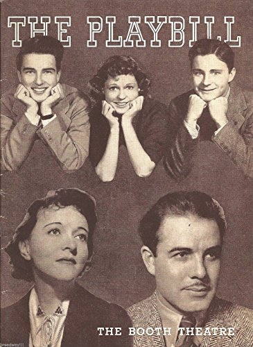 "Jessie Royce Landis ""DAME Class"" Montgomery Clift / Forrest Orr 1938 Playbill"