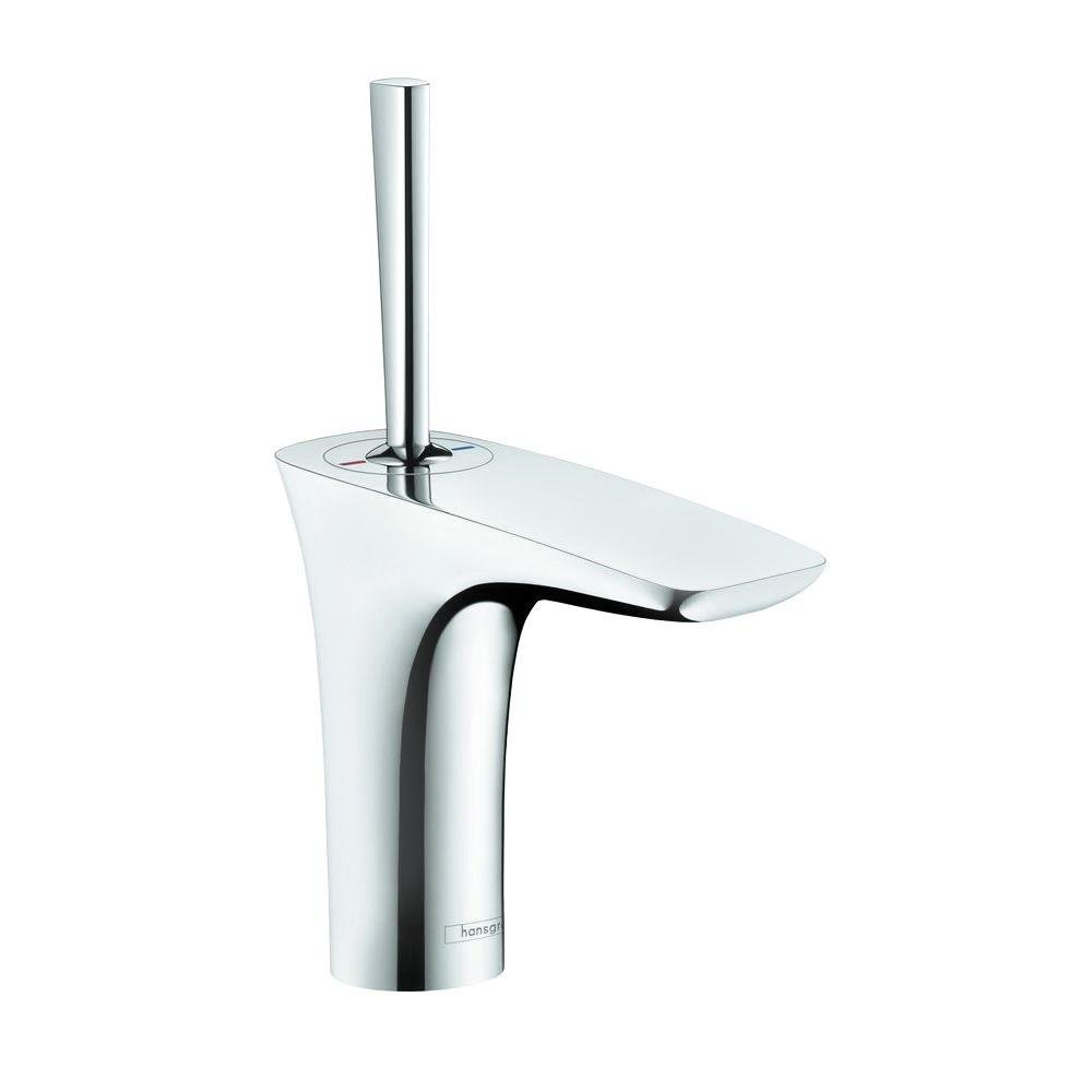 hansgrohe bathroom faucet. Hansgrohe 15070001 Puravida Single Hole Faucet  Chrome Touch On Bathroom Sink Faucets Amazon com