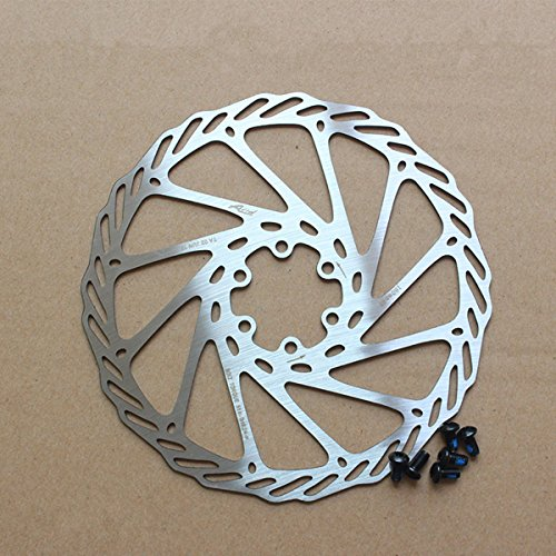 Gymforward 2pcs Mountain Bike Rotors G3 Bicycle Brake Disc Stainless Steel Rotors with Free 12 Bolts
