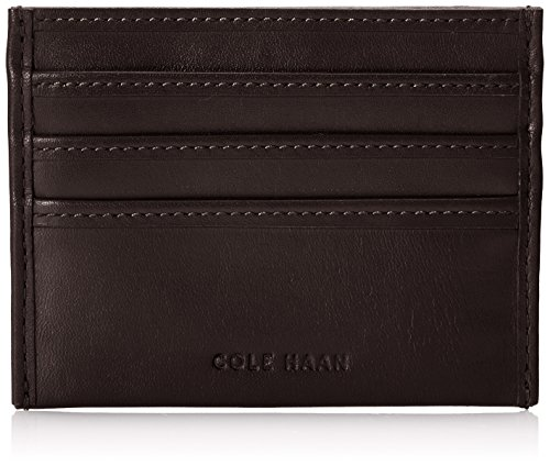 Chocolate Haan Cole (Cole Haan Men's Whitman Credit Card Holder, Chocolate, One Size)