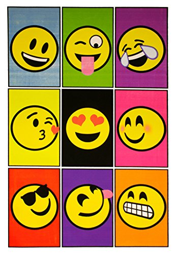 Emoji Blacklight Poster 23 x 35 inches