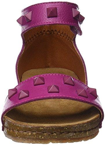 Art Dames 1251a Memphi Creta Ankle Strap Sandalen Roze (magenta)