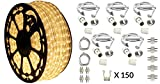 120V Dimmable LED Type 513 Warm White Rope Light Kit - 513PRO Series (Deluxe Kit, Warm White)