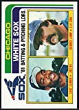 Baseball MLB 1982 Topps #216 Chet Lemon/Dennis Lamp TL White Sox