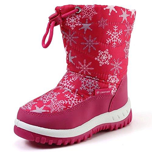 Little Girls Snow Boots - 8