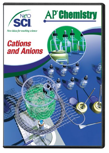 Neo/SCI Cations and Anions Neo/LAB AP Chemistry Software, Network License ()