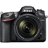 Nikon D7200 DX-Format 24.2MP Digital HD-SLR Camera w/18-140mm VR Lens 16GB bundle includes camera body, 18-140mm VR Lens, lens cleaning kit, compact gadget bag, 16GB memory card and micro fiber cloth